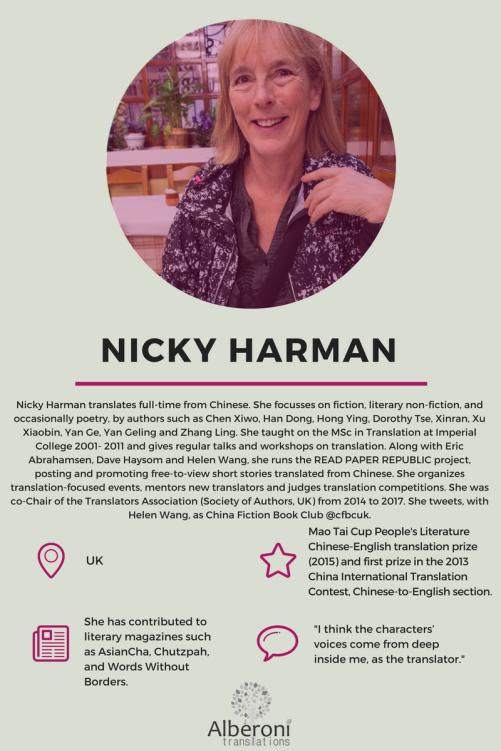 Nicky Harman