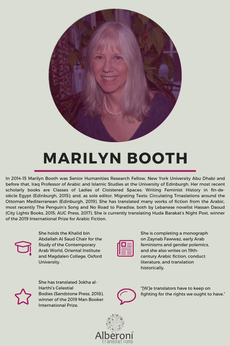 Marilyn Booth